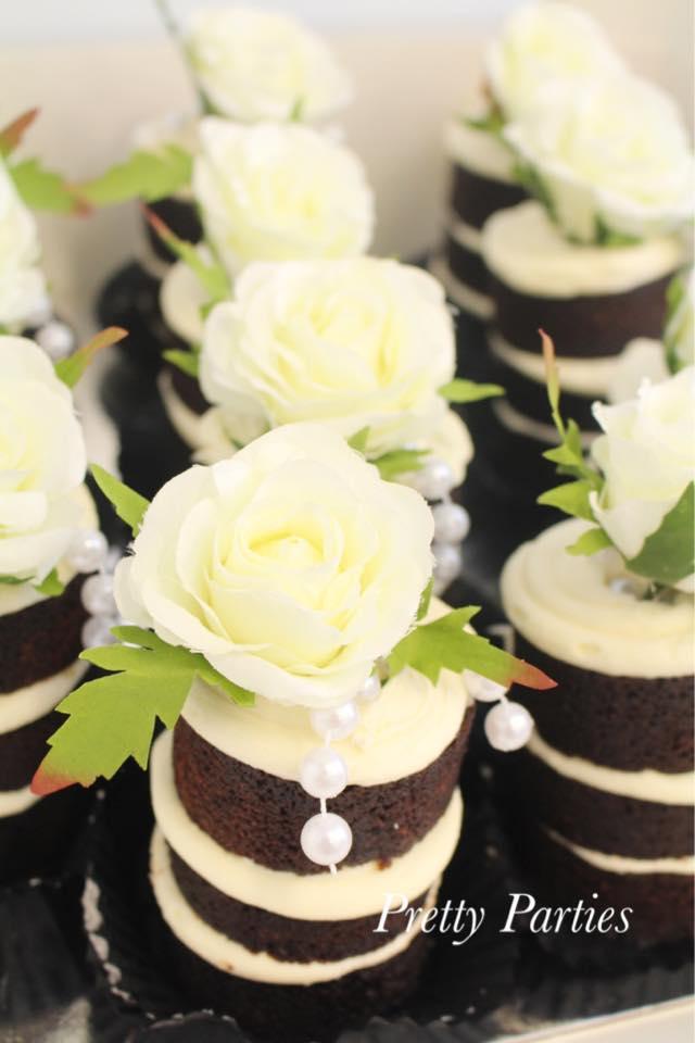 Mini Naked Cakes - Pretty Parties