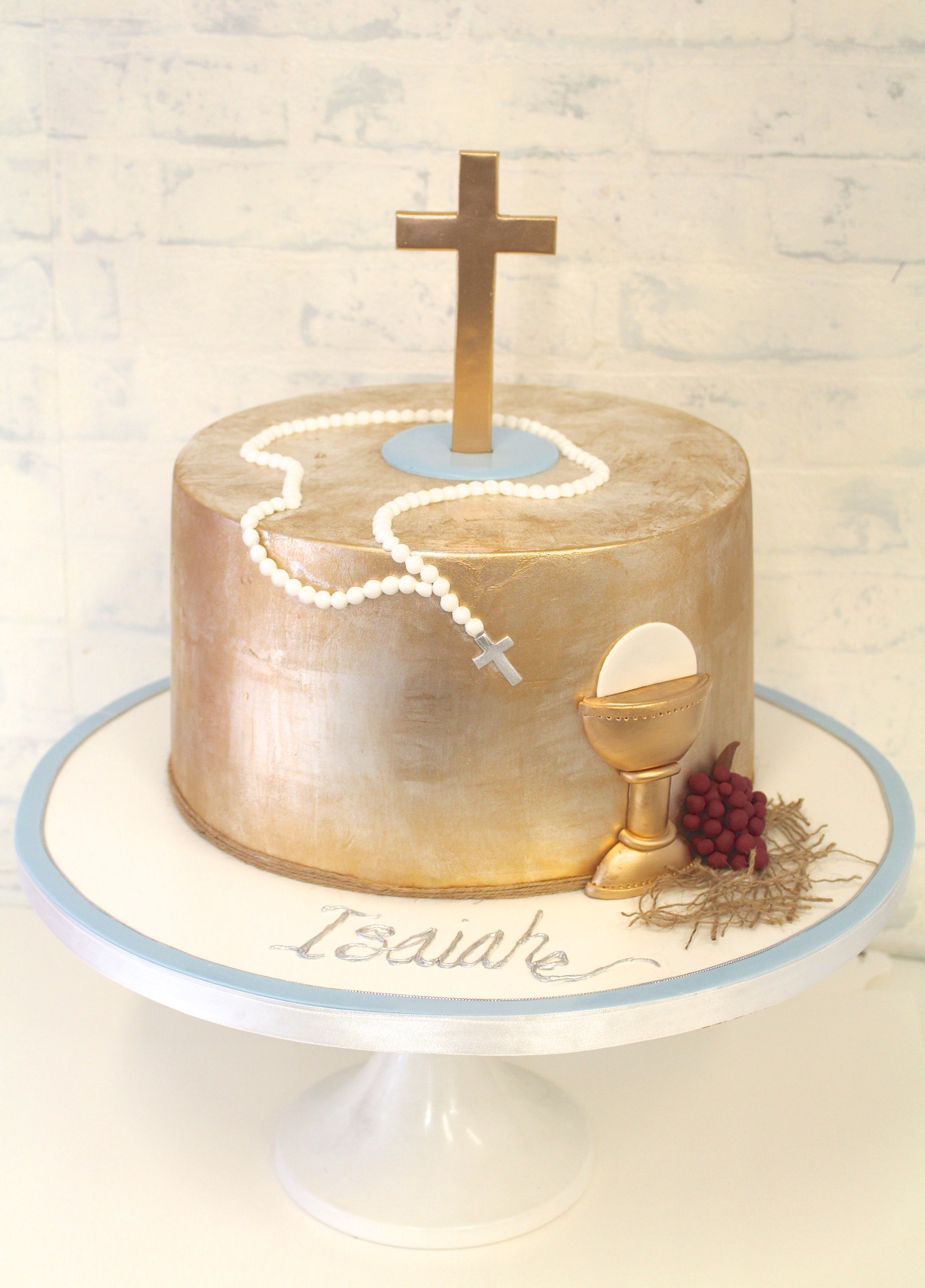 Communion Amp Confirmation Cakes Pretty Parties